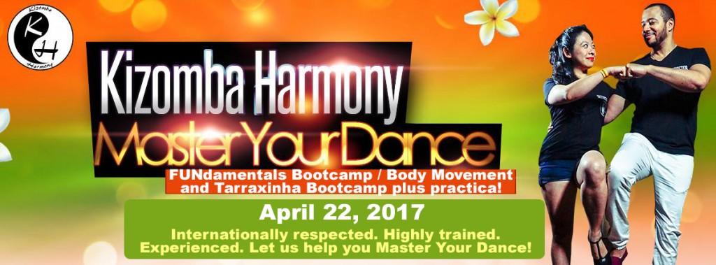 Kizomba Harmony Master Your Dance Weekender 04 22 17